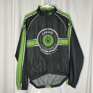 Canari Cycling Wind Long Sleeve Jersey Jacket Med
